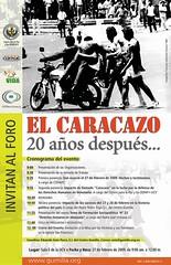 Foro Público El Caracazo: 20 años después