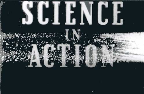 Still from Craig Baldwins Science in Action presentation and screening on Sunday May 3, 4:30pm