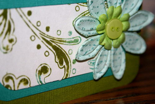 *Thinking of You* card up close