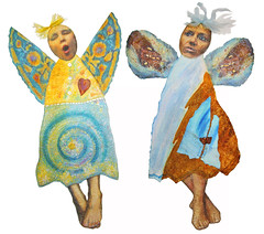 A Small Flock~Carol Angel and Barb Angel