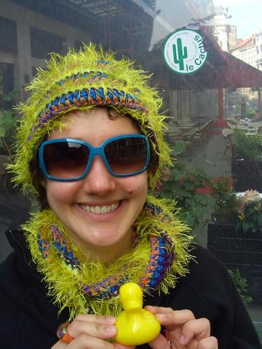 La Femme Cactus avec le cactus