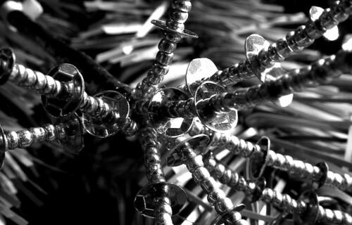 Octopus Ornament. (Ilford Pan F Plus. Nikon F100. Epson V500.)