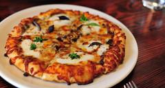 """11th Course: strawberry pizza """"margherita"""""""