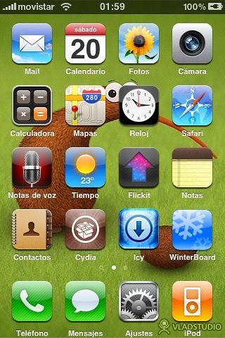 iPhone 3G 3.0 con Jailbreak