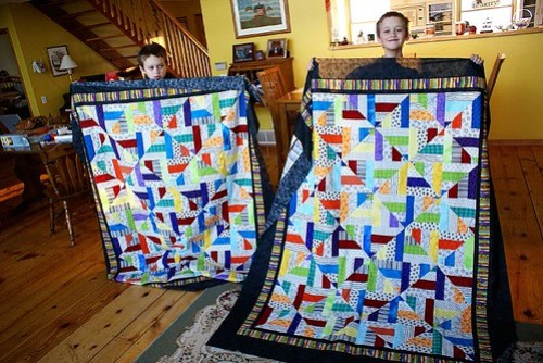 Twin Quilts, edited