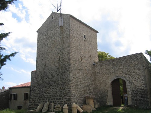 The tower of the fortress