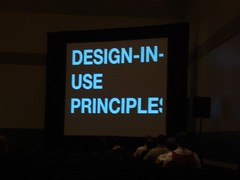 design in use