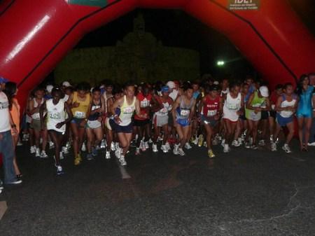Salida del maratón de la marina 2009