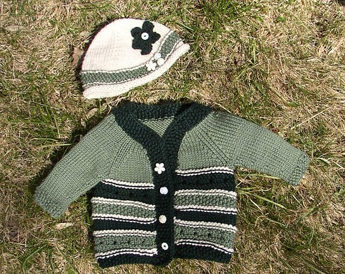 Baby Ivy's sweater & hat