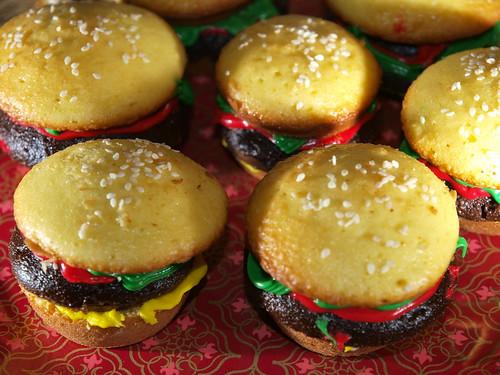 cupcake cheesburgers