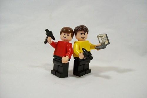 LEGO Star Trek minifigs