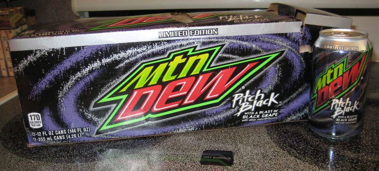 Mt Dew Pitch Black 2011