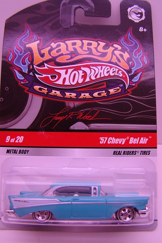 Larrys garage chase 57 chevy bel air