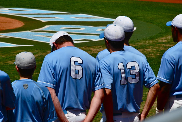 baseball: maryland @ unc, game 3