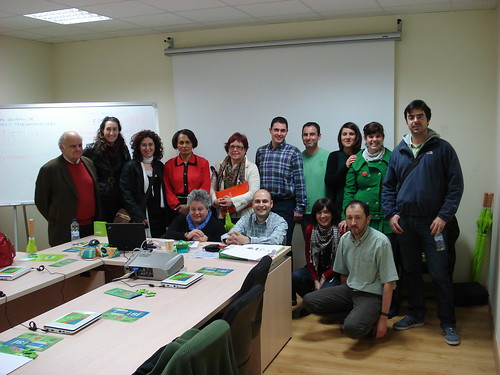 Grupo de Asistentes al curso TICs para ONGDs