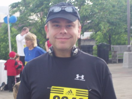 Me at race start