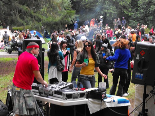 The Brass Tax free party in Golden Gate Park 13
