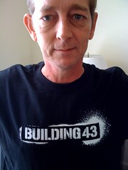 Rob La Gesse sporting a Building43 T-shirt