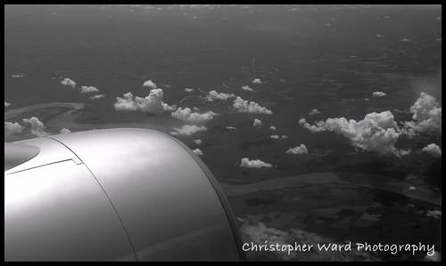 Plane BW