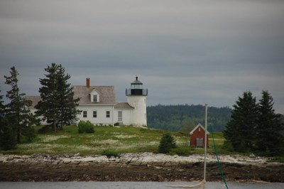 Pumpkin Island Lighthouse
