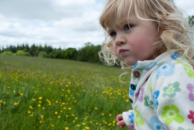 Eva in a meadow