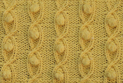 Slip cross cable with bobbles