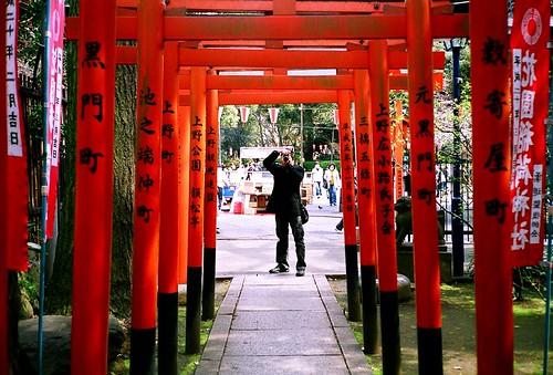 [tokyo]上野花園稻荷神社
