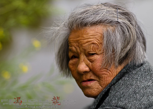 Farmer in Jinshan, Shanghai