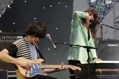 Victoria Legrand + Alex Scally of Beach House at Laneway Festival Singapore