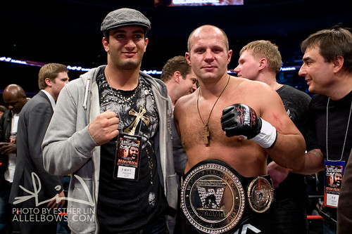 Gegard Mousasi and Fedor Emelianenko