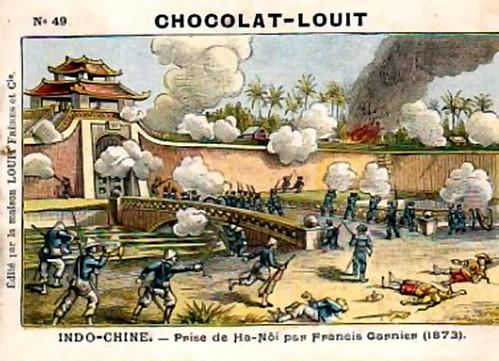 prise de Hanoi par F.G 1873