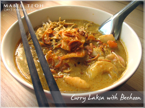 Curry Laksa with Beehoon