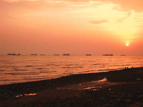 Naval academy sea beach, Chittagong, Bangladesh