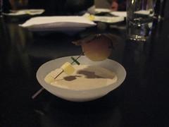 Hot Potato course - Dinner at Grant Achatz's Alinea in Chicago