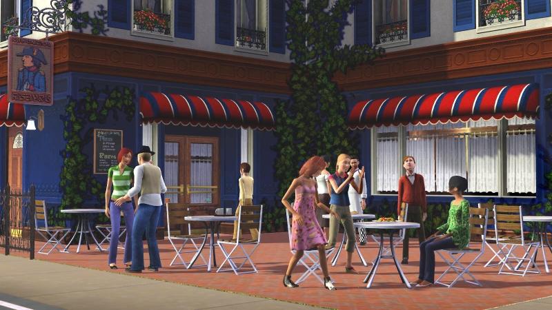 2/14/09 - The Sims 3 Cafe screenshot