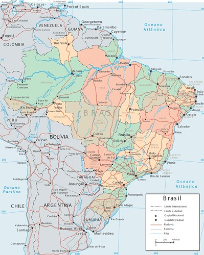 Mapa do Brasil (Brazil map)