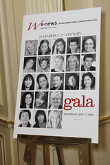 Women's eNews celebration of the 21 Leaders for the 21st Century 2009, Thursday, May 7, 2009 in New York City by webmamma5000