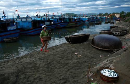 Cảng cá Mỹ Á - Quảng Ngãi by you.