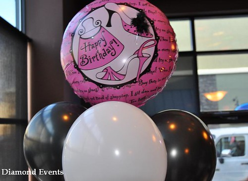 Shoe Balloon Centerpiece