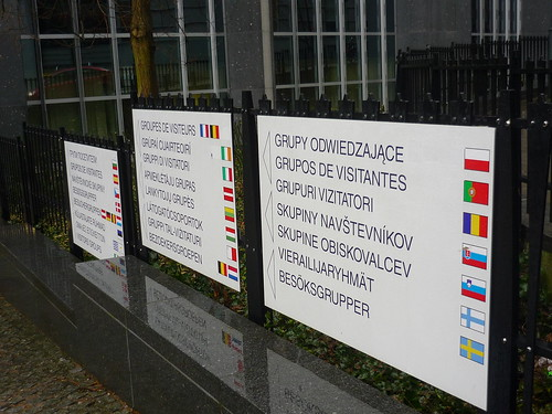 Many languages at the European Parliament