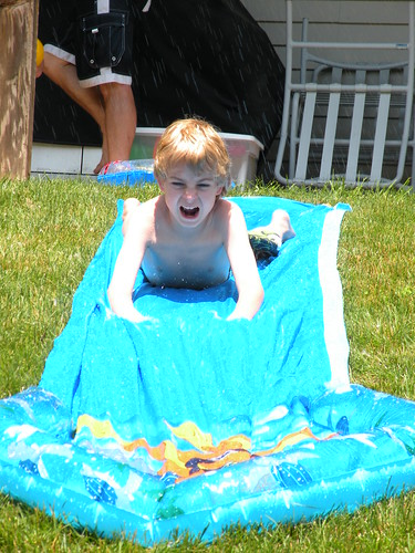 brent on waterslide by you.