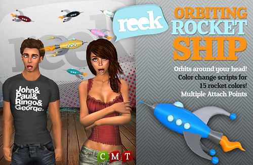 Reek - Orbiting Rocket Ship