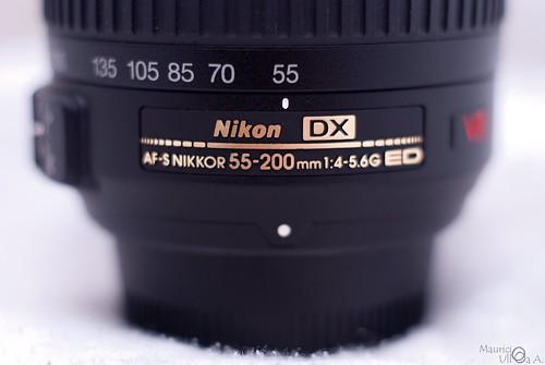 Nikkor 55-200mm VR.