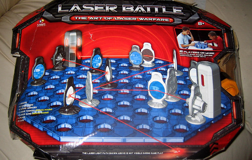 20100501 - yard sale stuff - IMG_0177 - Laser Battle ($1)