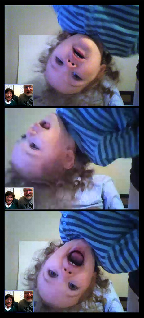 Skyping with Zoe and Joel
