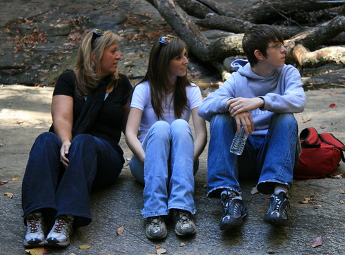 Terri and kids by you.