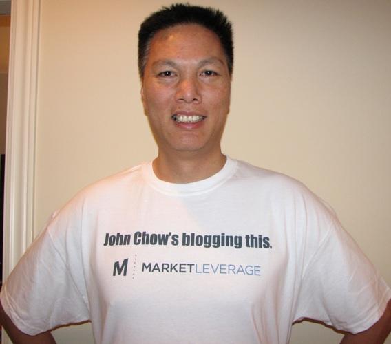 John Chow, blogger