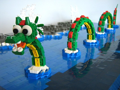 LEGO Disney World Seamonster