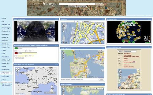 iGoogle Tab: Maps