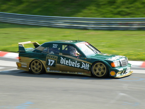 Mercedes Evo Diebels Alt DTM trim at Nordschleife by RmR_Photography